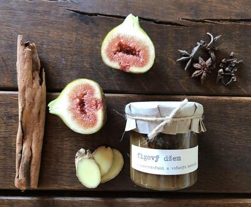 Figový džem s pomarančami a voňavím korením