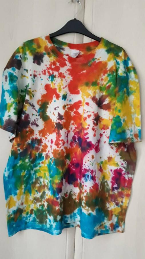 7cd4ebfc7b0d Pánske batikované tričko   ADDeLaide - SAShE.sk - Handmade Tričká