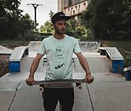 Oblečenie - Pánske tričko_Skejťak Karol - 9752545_