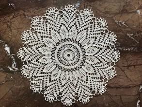 """Úžitkový textil - Čipka """"Edelweiss"""" - 9752469_"""