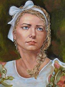 Obrazy - Maľované portréty na objednávku - 9753134_