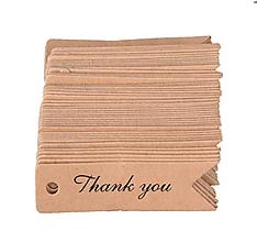 Papier - VI104 Visačka THANK YOU 7 cm - 9751384_