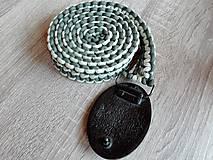Opasky - Opasok z Paracordovej šnúry - 9751630_