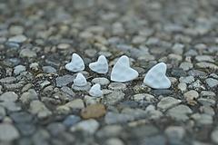 Náušnice - Pocelánové náušnice Si v mojom srdci - 9751226_