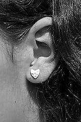 Náušnice - Pocelánové náušnice Si v mojom srdci - 9751237_