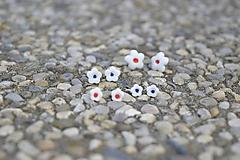 Náušnice - Porcelánové náušničky Kvet pre teba - 9751313_