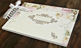 Svadobný album,jemný album na fotky,svadobná kniha hostí A4