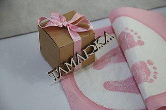 Darčeky pre svadobčanov - Darček pre hostí - 9751903_