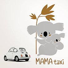 Detské doplnky - MAMA taxi - koala - 9753383_