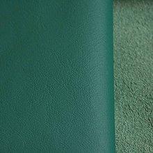 Suroviny - Exkluzívna koža - tyrkysová tmavá - 9751392_