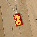 Náhrdelníky - Romantický prívesok - 9753363_