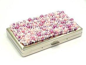 Iné doplnky - Ružová tabatiera - 9754445_