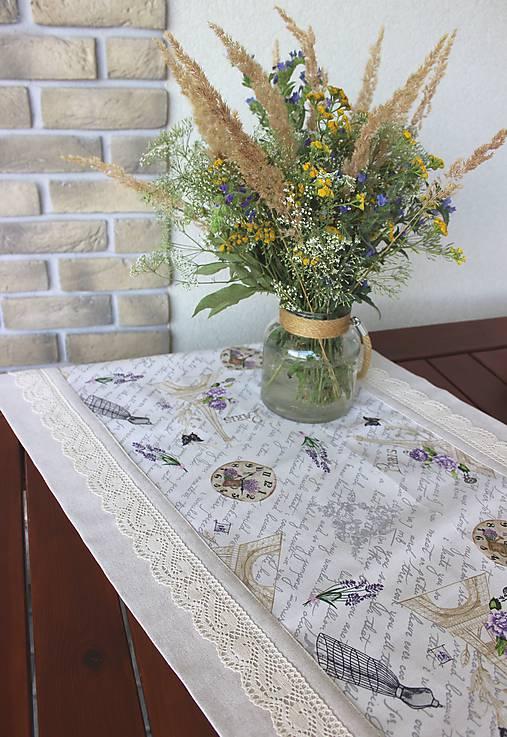 štóla Paris dream   Lallychic - SAShE.sk - Handmade Úžitkový textil de975620d05