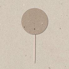 Dekorácie - Napichovátka /// kolečka 3,7 cm - 9753978_