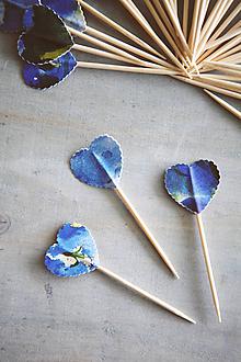 Dekorácie - Candy bar - napichovátka (zápich) - akvarel - 9756993_