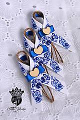 Pierka - svadobné pierka FOLK - 9757196_