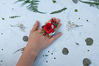 Prstene - Kvetinový prsteň - 9755226_
