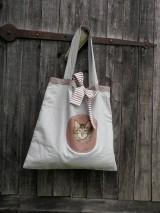 Nákupné tašky - Mačkomilka - veľká nákupná taška - 9757142_