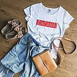 Dámske tričko Čačaná (potlač)