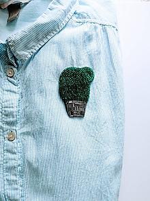 Odznaky/Brošne - Brošňa Kaktusák - 9757104_