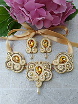 - Sujtášový náhrdelník a náušnice