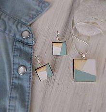 """Sady šperkov - Sada šperkov - """"More"""" (prívesok + náušnice s francúzskym zapínaním) - 9755151_"""