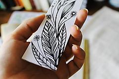 Papiernictvo - Záložka do knihy - Tulipán - 9753684_