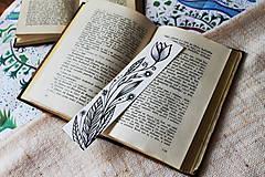 Papiernictvo - Záložka do knihy - Tulipán - 9753686_