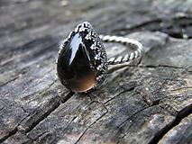 - Strieborny prsteň Ag 925 Zahneda - 9755569_