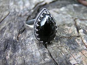 Prstene - Strieborny prsteň Ag 925 Spinel - 9755540_