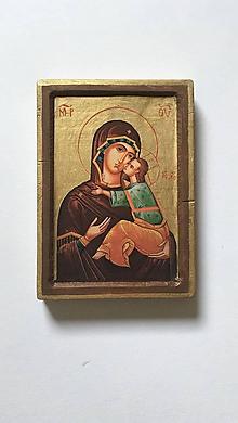Obrazy - Svätý Obrázok (Panna Mária s Ježiškom) - 9754288_