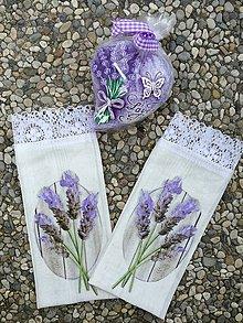 Úžitkový textil - Vrecúška na levanduľu. - 9754278_