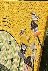 Obrazy - Textilný obraz - Krajina - 9757186_