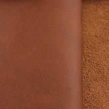 Suroviny - Exkluzívna koža - stredna hnedá - 9754290_