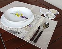Úžitkový textil - prestieranie Paris dream - 9758917_