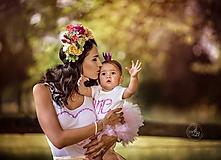 Ozdoby do vlasov - Explózia žiarivých kvetov - 9759322_