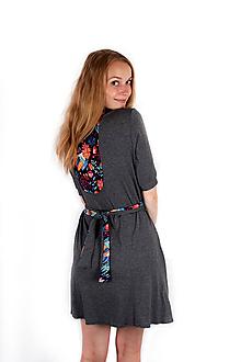 Šaty - Šaty NACHT folklor - 9758544_