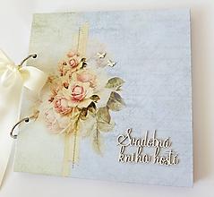 Papiernictvo - svadobná kniha hostí - 9757348_