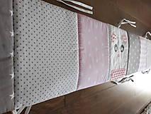 Textil - Hniezdo do postieľky ... Medveď - 9758203_