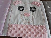 Textil - Hniezdo do postieľky ... Medveď - 9758204_