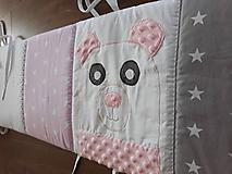 Textil - Hniezdo do postieľky ... Medveď - 9758209_