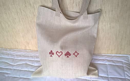 5199acbdf5 Nákupná ľanová taška   duvlaska - SAShE.sk - Handmade Nákupné tašky
