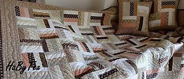 Úžitkový textil - Patchworková  súprava - 9757703_