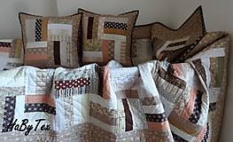 Úžitkový textil - Patchworková  súprava - 9757704_