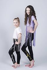 Detské oblečenie - Tričko s dlhými strapcami - 9757292_