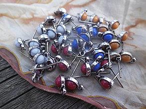 Komponenty - Náušnicové puzety - Mini - 9759033_