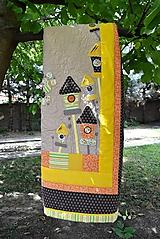 Úžitkový textil - Prehoz -  sýkorka No. 2 - 9757860_