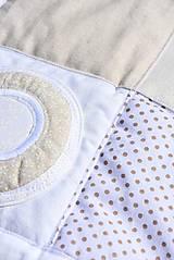 Úžitkový textil - V krajine zázrakov...béžovo- biele prevedenie...:))) - 9758139_
