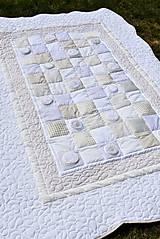 Úžitkový textil - V krajine zázrakov...béžovo- biele prevedenie...:))) - 9758140_