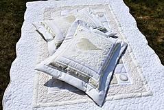 Úžitkový textil - V krajine zázrakov...béžovo- biele prevedenie...:))) - 9758142_